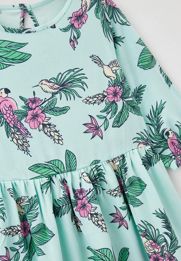 Платья для девочки Mark Formelle цвет бирюзовый  Фото 3