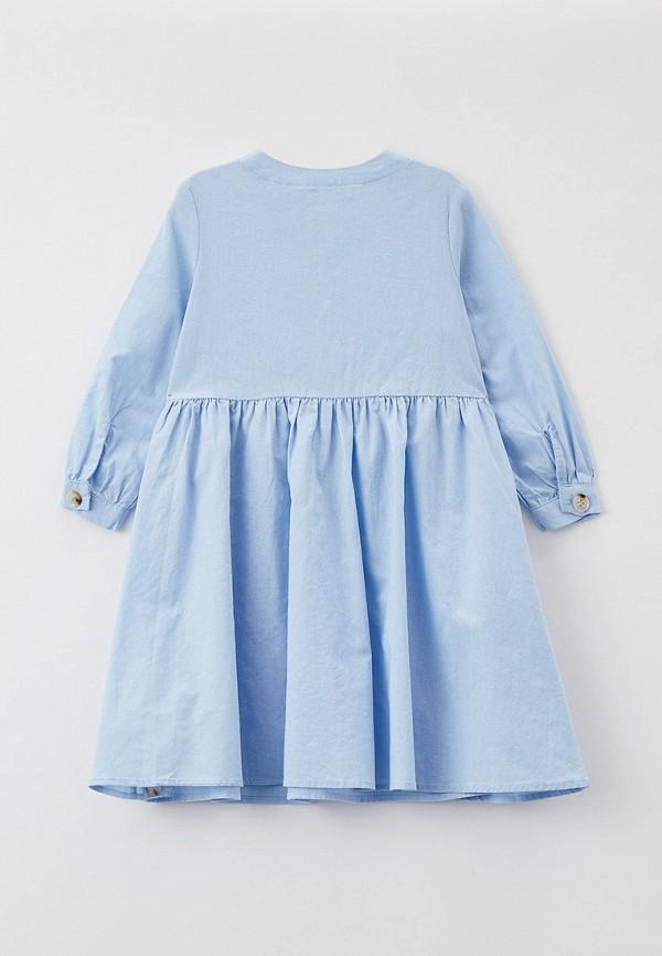 Платья для девочки Sela цвет голубой  Фото 2