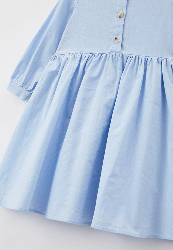 Платья для девочки Sela цвет голубой  Фото 3