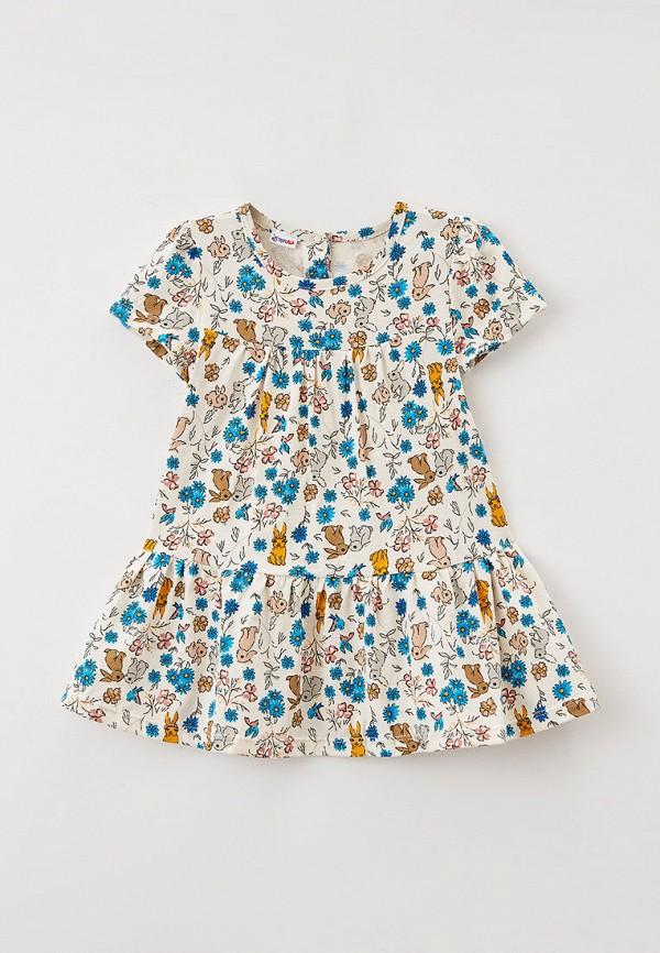 Платья для девочки Youlala цвет бежевый