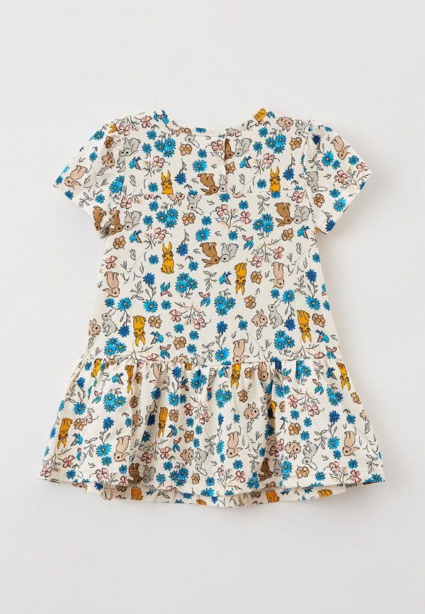 Платья для девочки Youlala цвет бежевый  Фото 2