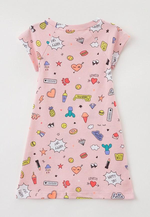 Платья для девочки Youlala цвет розовый  Фото 2