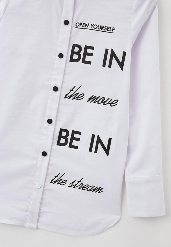 Рубашка для девочки Letty цвет белый  Фото 3
