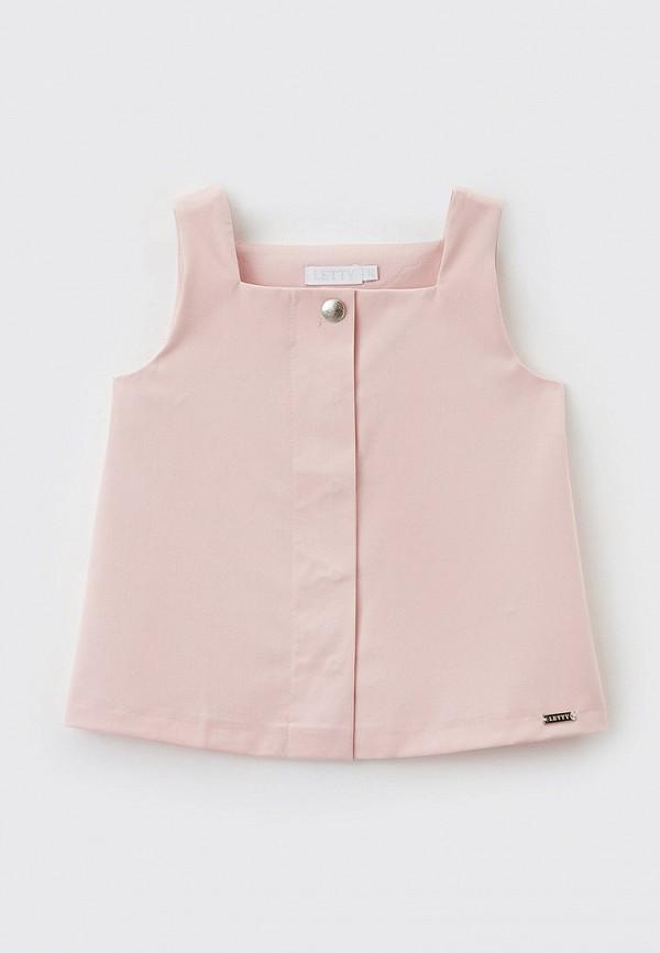 Блуза Letty цвет розовый