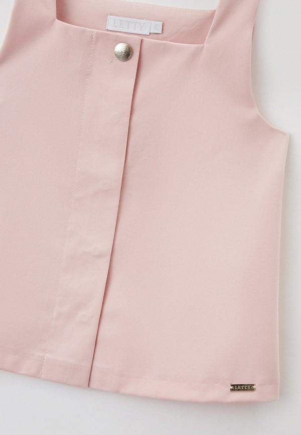 Блуза Letty цвет розовый  Фото 3