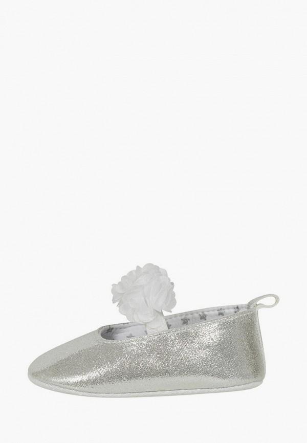 Туфли для девочки Mursu цвет серебряный
