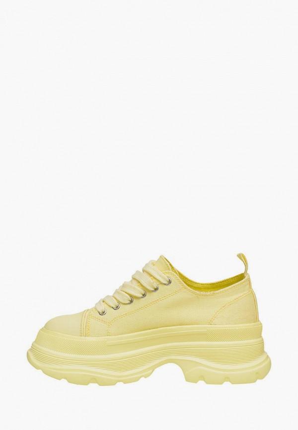 Кроссовки для девочки Mursu цвет желтый  Фото 2