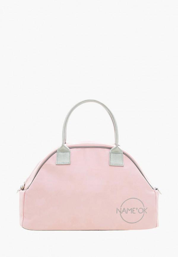 спортивные сумка name'ok для девочки, розовая