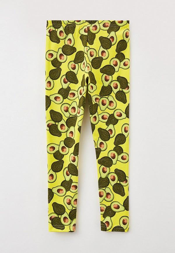 Леггинсы для девочки Youlala цвет желтый  Фото 2