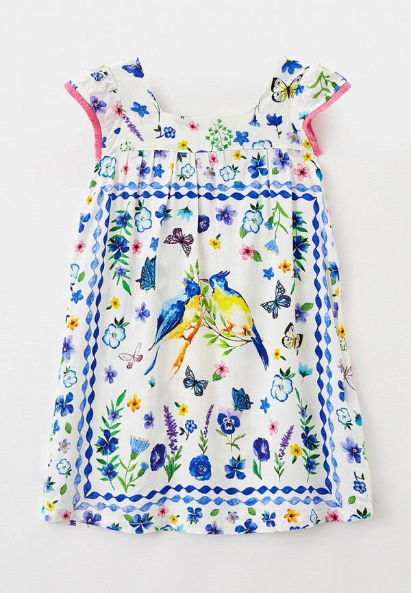 Платье Sela Sela  белый фото