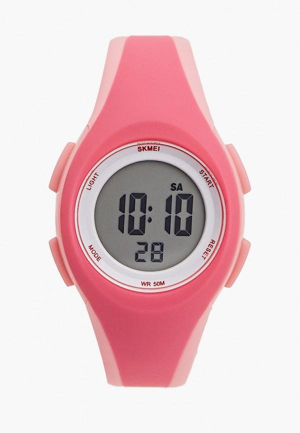часы skmei для девочки, розовые