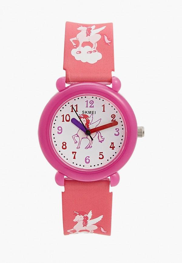 часы skmei для девочки, фиолетовые