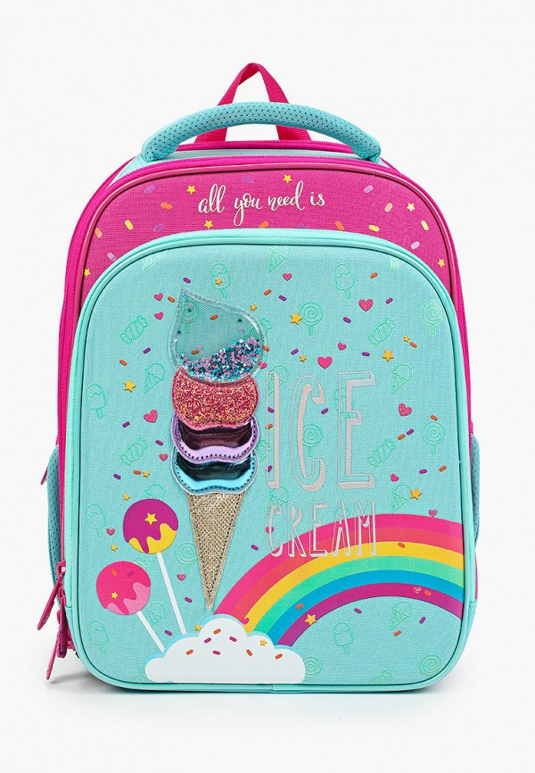 кошелёк berlingo для девочки, разноцветный