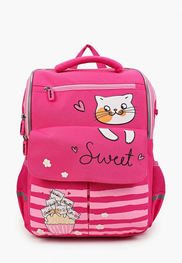 рюкзак berlingo для девочки, розовый