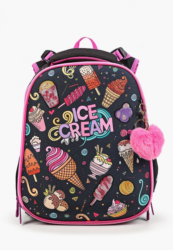 рюкзак berlingo для девочки, черный