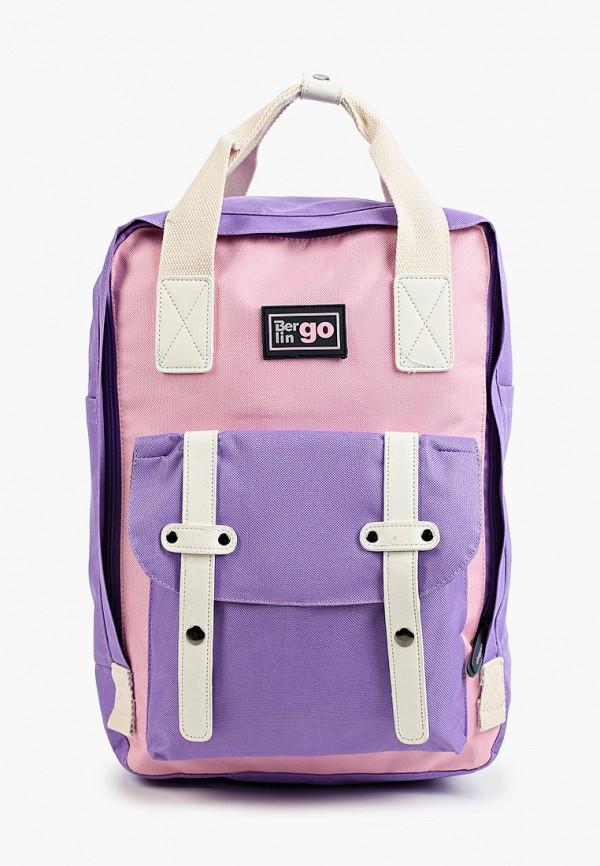 рюкзак berlingo для девочки, разноцветный