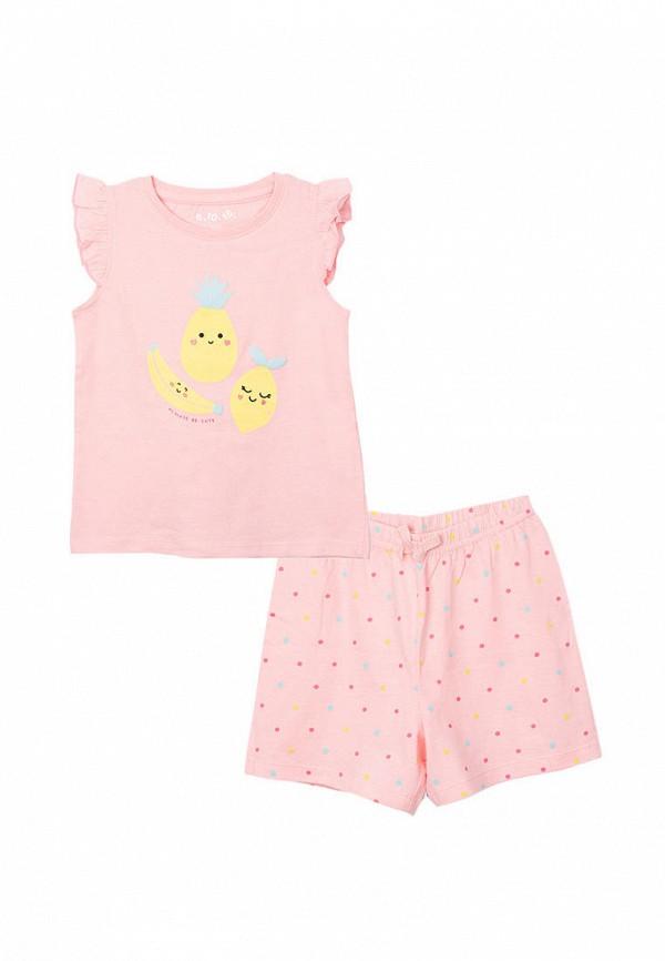 Пижама 5.10.15 5.10.15  розовый фото