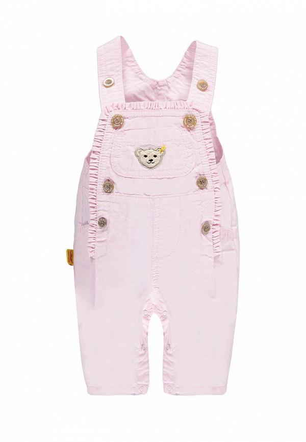комбинезон steiff для девочки, розовый