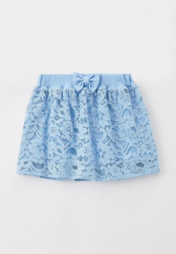 юбка smena для девочки, голубая