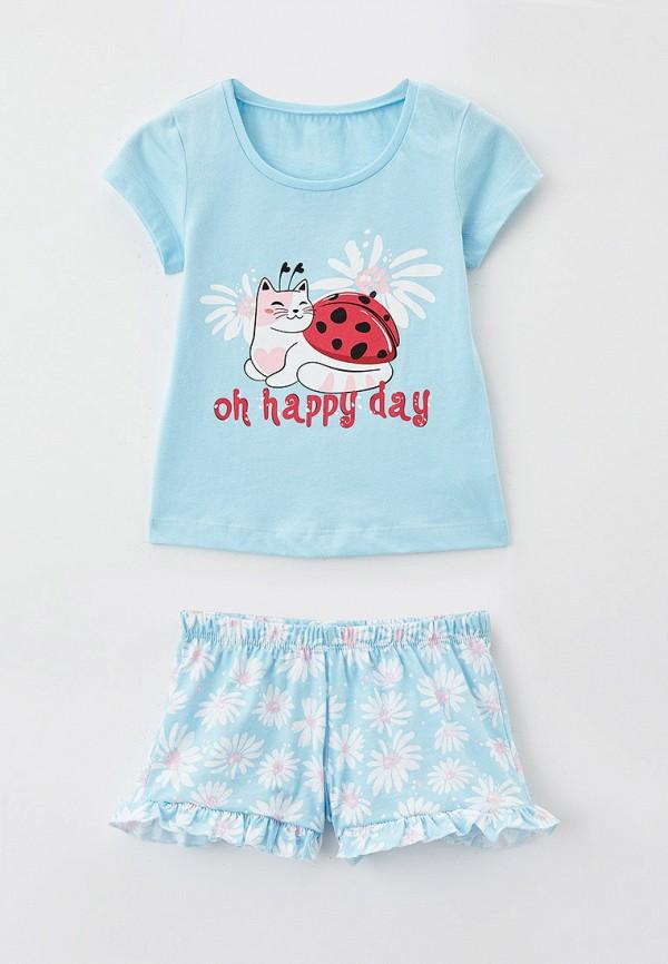 пижама mark formelle для девочки, бирюзовая