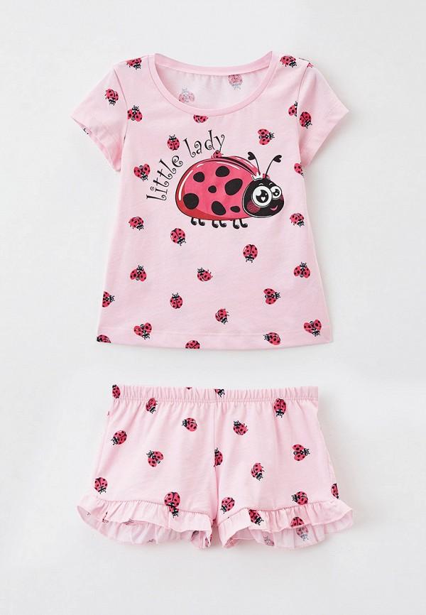 пижама mark formelle для девочки, розовая