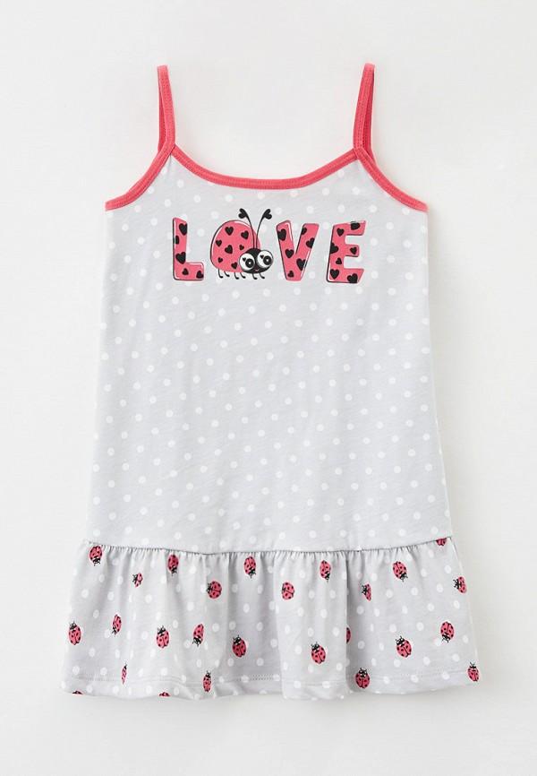 сорочка ночная mark formelle для девочки, серые