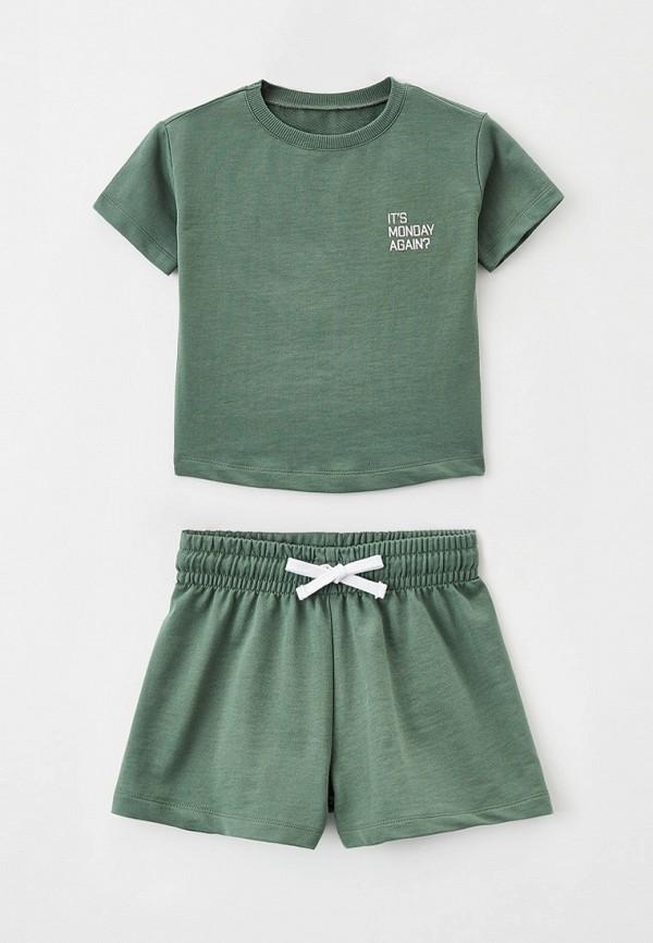 спортивный костюм mark formelle для девочки, зеленый