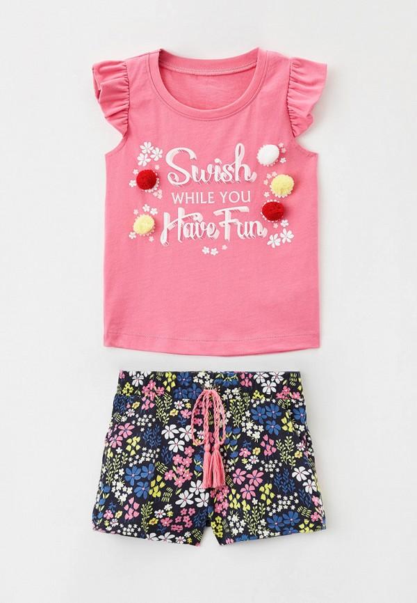 футболка mark formelle для девочки, разноцветная