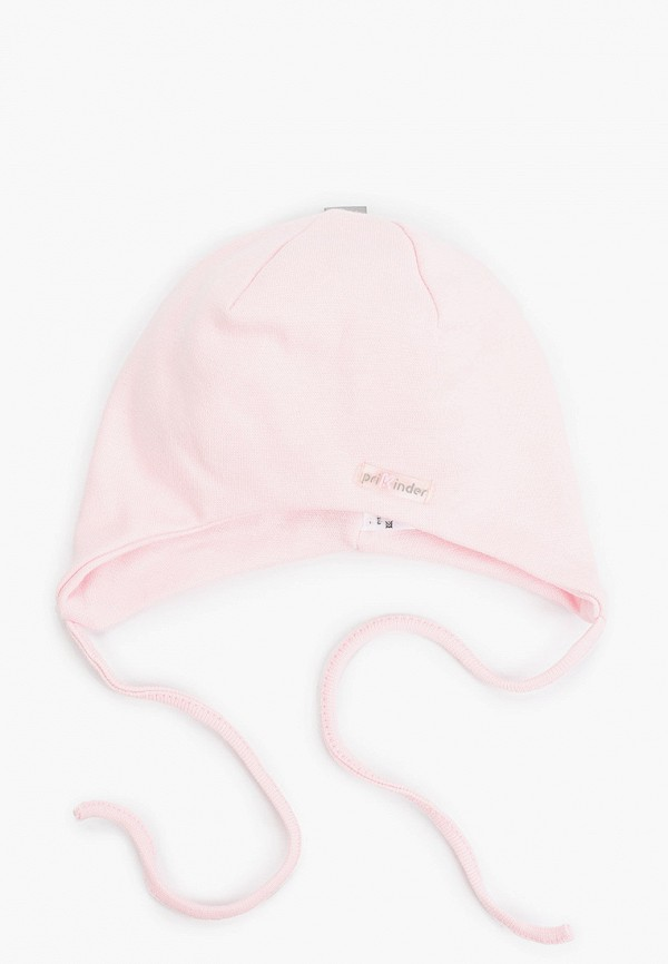 шапка prikinder для девочки, розовая