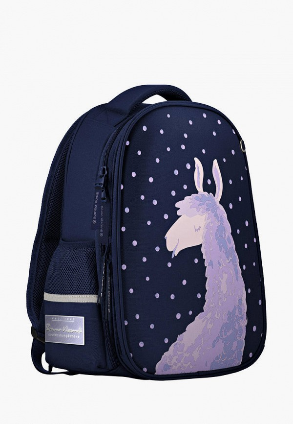 рюкзак bruno visconti для девочки, синий
