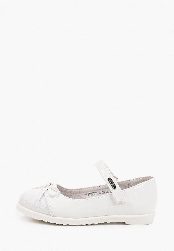 туфли mursu для девочки, белые