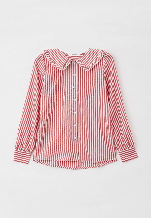 блузка tforma для девочки, красная