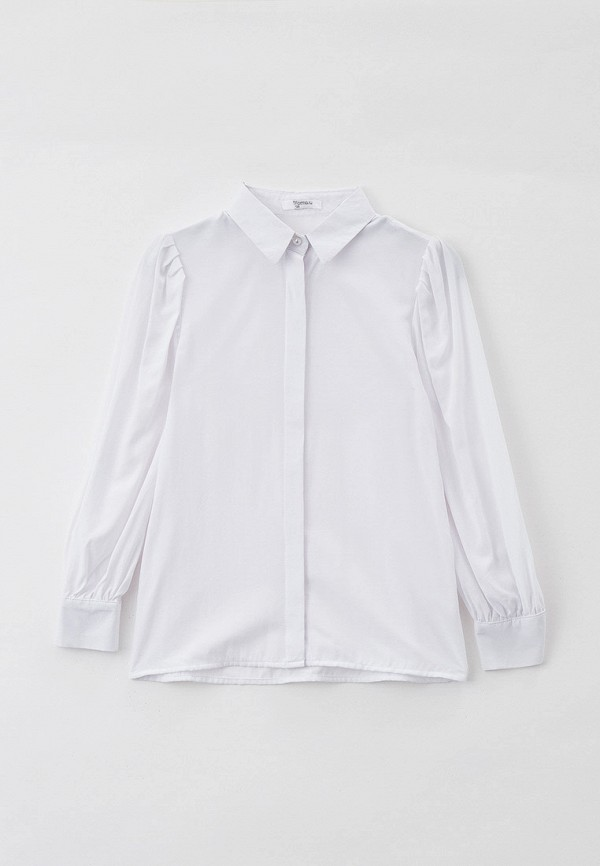 блузка tforma для девочки, белая