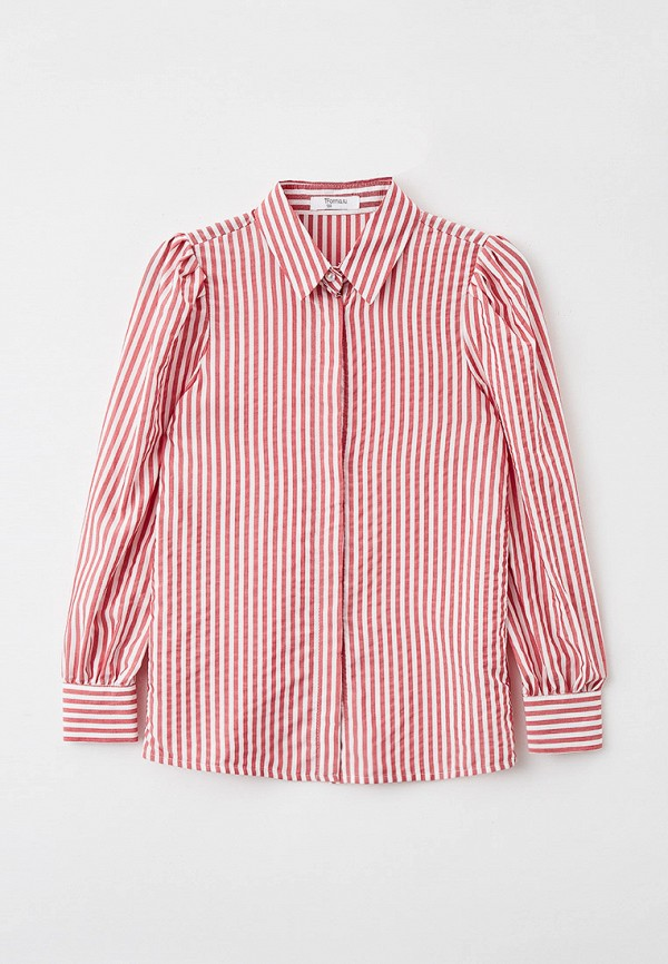 блузка tforma для девочки, розовая
