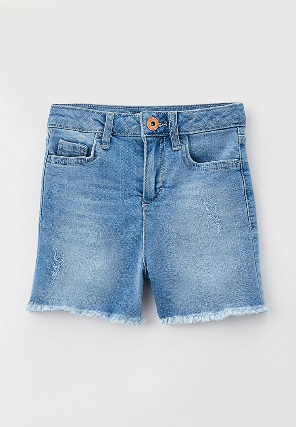джинсовые шорты defacto для девочки, голубые