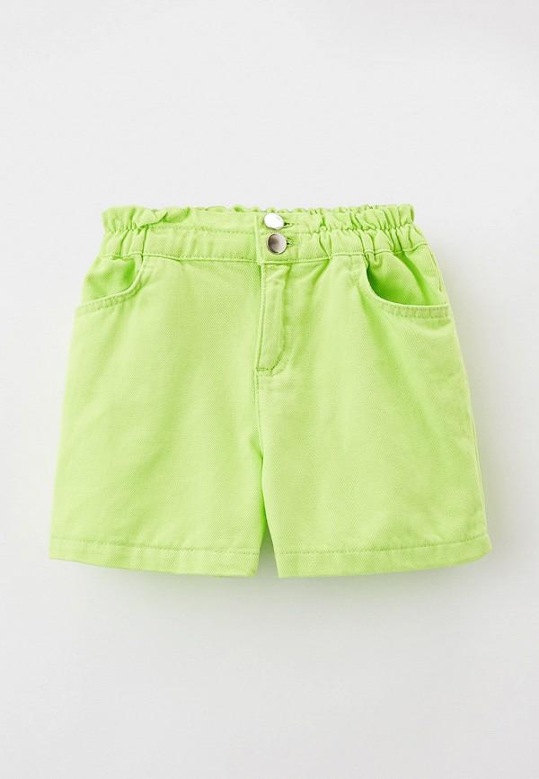 джинсовые шорты defacto для девочки, зеленые