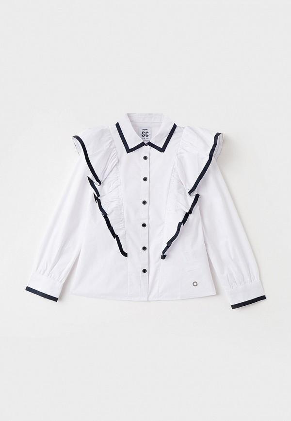 блузка playtoday для девочки, белая