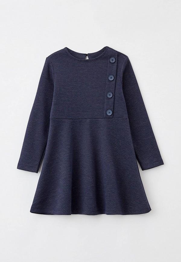 повседневные платье mark formelle для девочки, синее