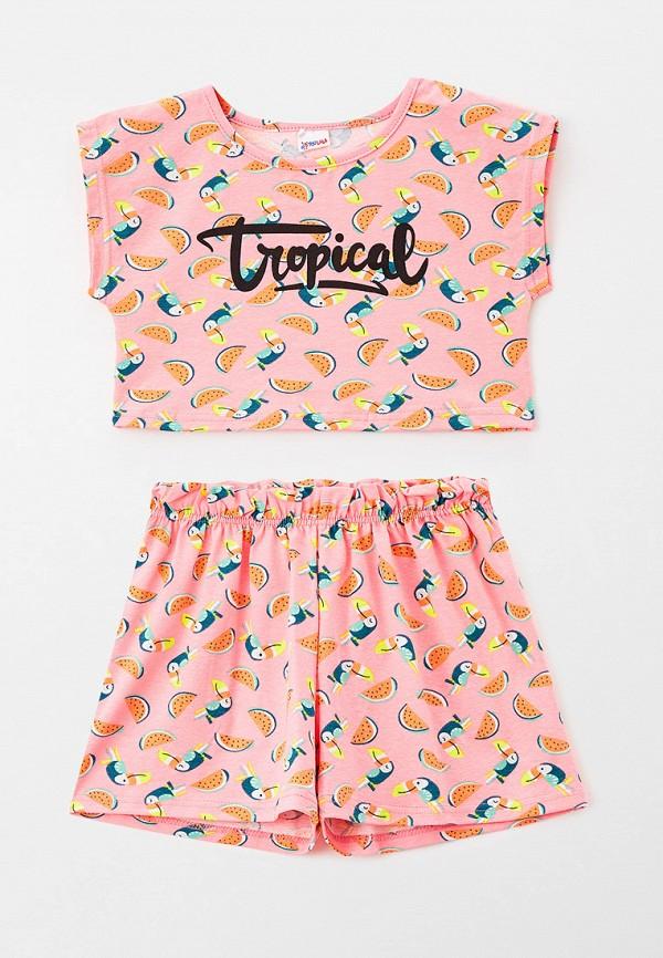 шорты youlala для девочки, розовые