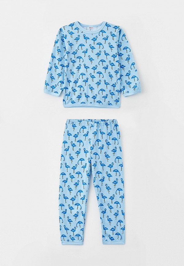 пижама youlala для девочки, голубая