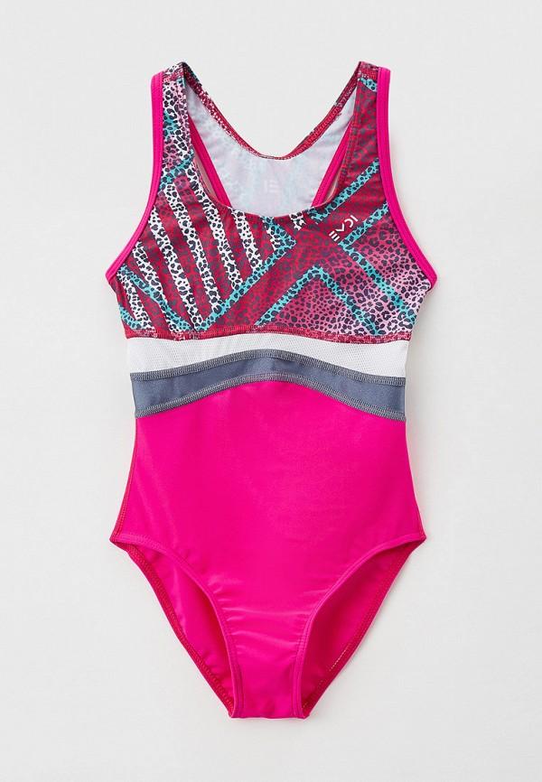 купальник emdi для девочки, розовый