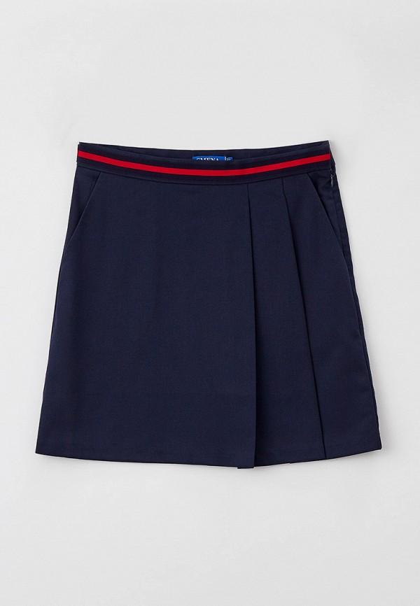 юбка smena для девочки, синяя