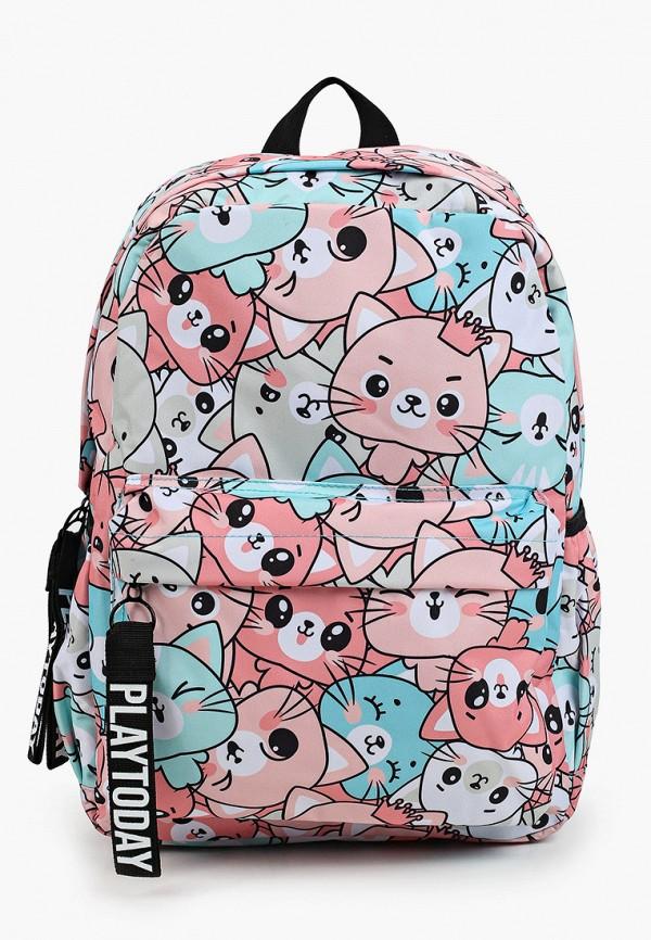 рюкзак playtoday для девочки, разноцветный