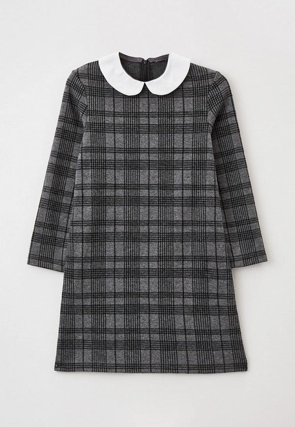 повседневные платье mark formelle для девочки, серое