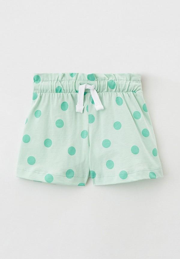 спортивные шорты mark formelle для девочки, зеленые