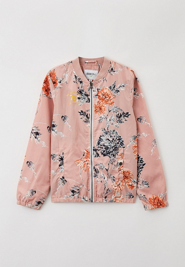 легкие куртка baon для девочки, розовая