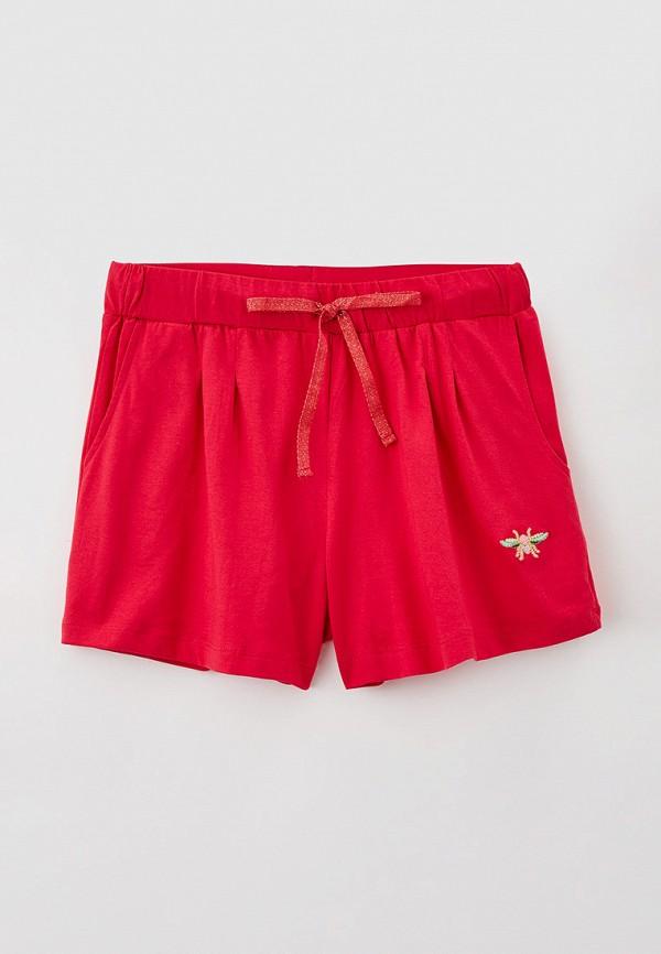 спортивные шорты baon для девочки, красные