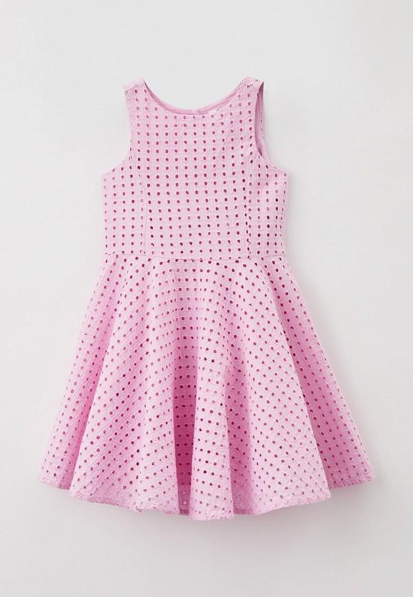 повседневные платье baon для девочки, розовое
