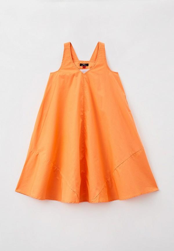 сарафан baon для девочки, оранжевый