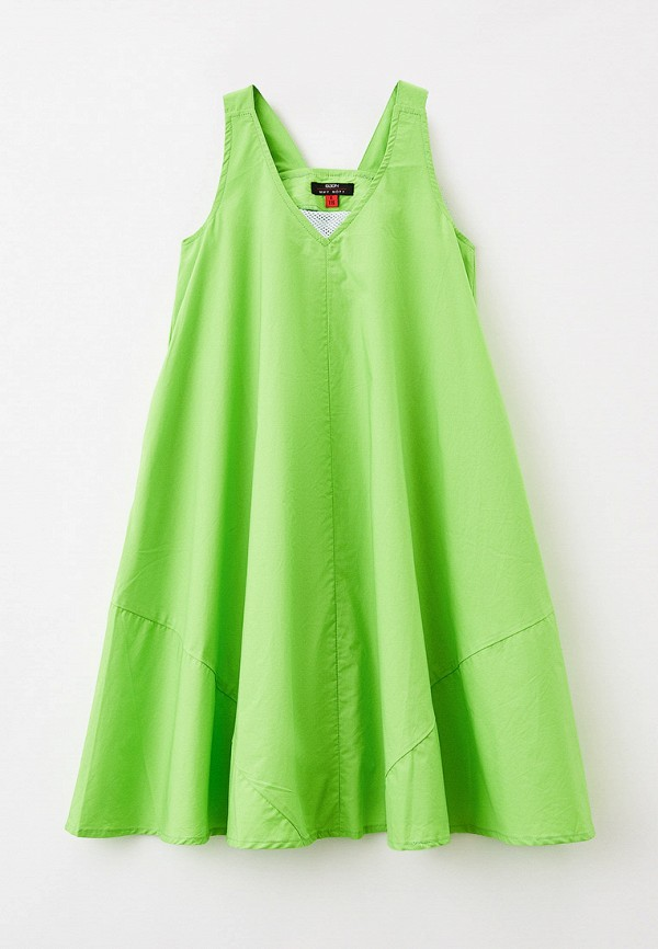 повседневные платье baon для девочки, зеленое